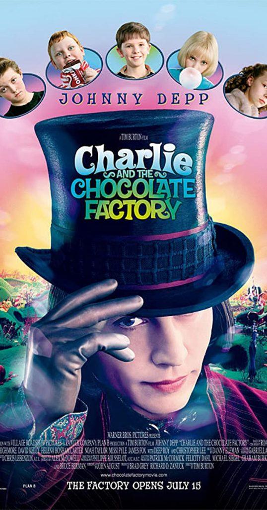 Charlie & the Chocolate Factory (2005) - https://www.imdb.com/title/tt0367594/?ref_=nv_sr_srsg_3