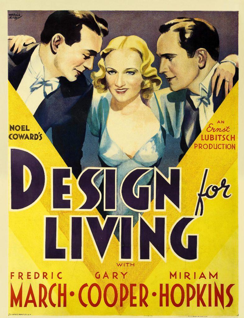 Design for Living (1933) - https://www.imdb.com/title/tt0023940/?ref_=nv_sr_srsg_0