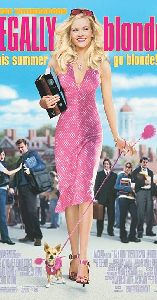 Legally Blonde (2001) - https://www.imdb.com/title/tt0250494/?ref_=nv_sr_srsg_0
