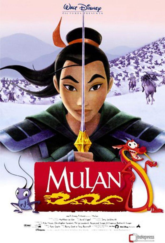 Mulan (1998) - https://www.imdb.com/title/tt0120762/?ref_=nv_sr_srsg_3