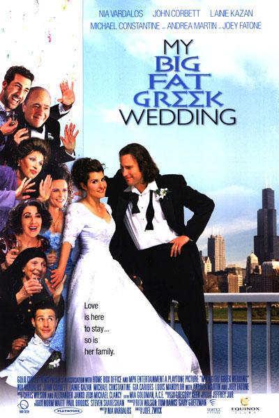 My Big Fat Greek Wedding (2002) - https://www.imdb.com/title/tt0259446/?ref_=nv_sr_srsg_0