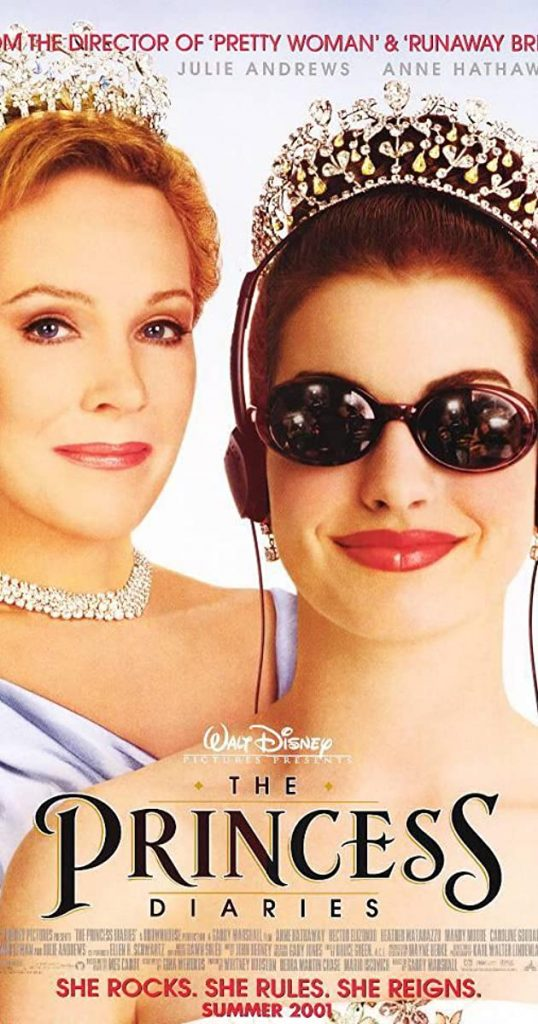 The Princess Diaries (2001) - https://www.imdb.com/title/tt0247638/?ref_=nv_sr_srsg_0