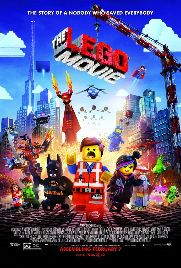 The Lego Movie (2014) - https://www.imdb.com/title/tt1490017/?ref_=nv_sr_srsg_3